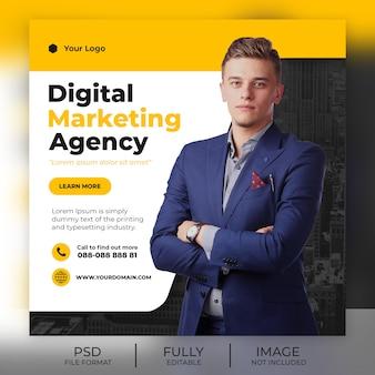 Modèle de publication instagram d'entreprise