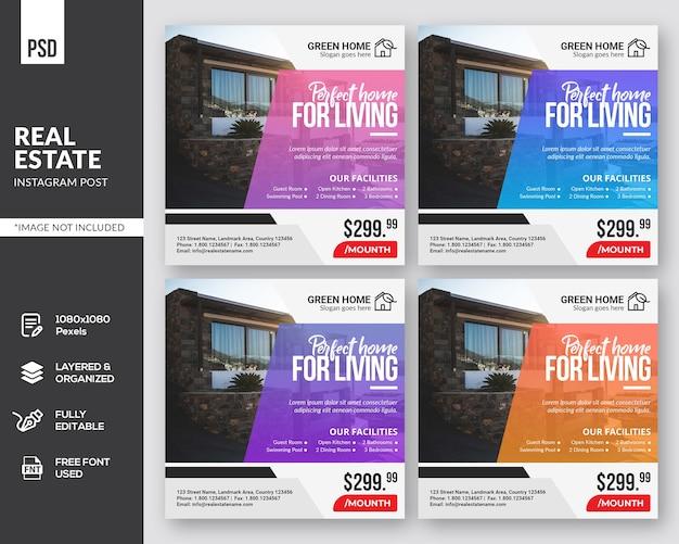 Modèle de publication instagram immobilier