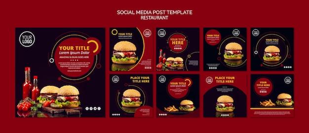 Modèle de publication de médias sociaux