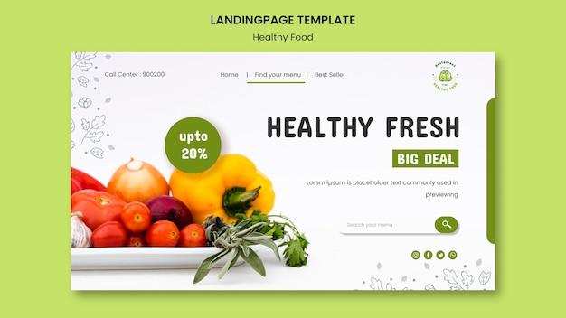 Modèle de site web de sécurité alimentaire