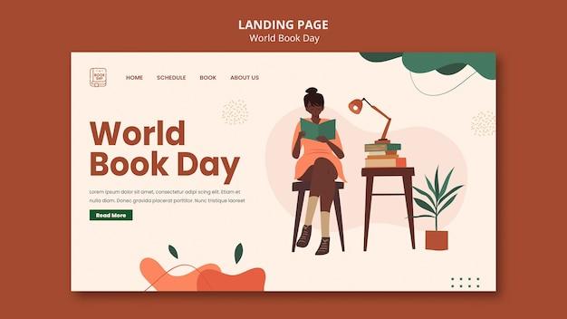 Modèle web de la journée mondiale du livre