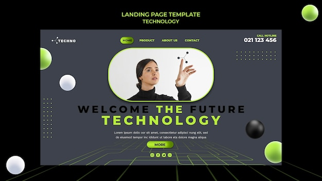 Modèle web de technologie