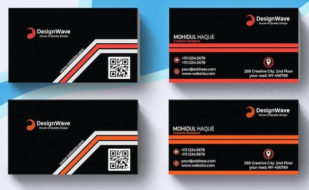 Modèles de cartes de visite d'entreprise