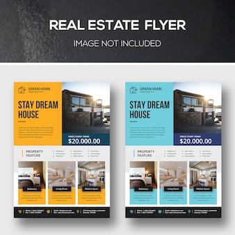 Modèles de flyers immobiliers