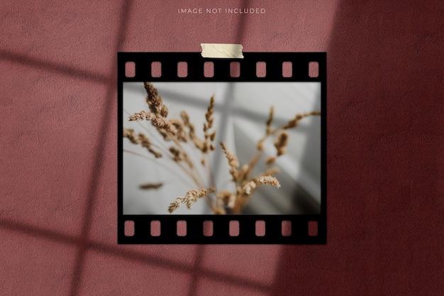 Modèles de maquette de bandes de film cadre de film 35 mm à haute résolution