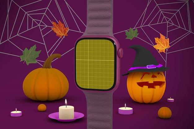 Montre intelligente d'halloween