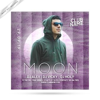 Moon flyer party