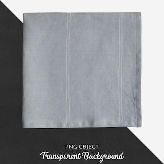 Mouchoir en tissu gris transparent, satin