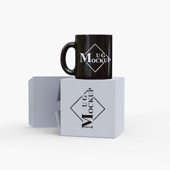Mug simple avec boîte
