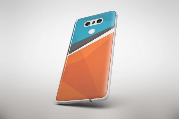 Multicolor smartphone se moque