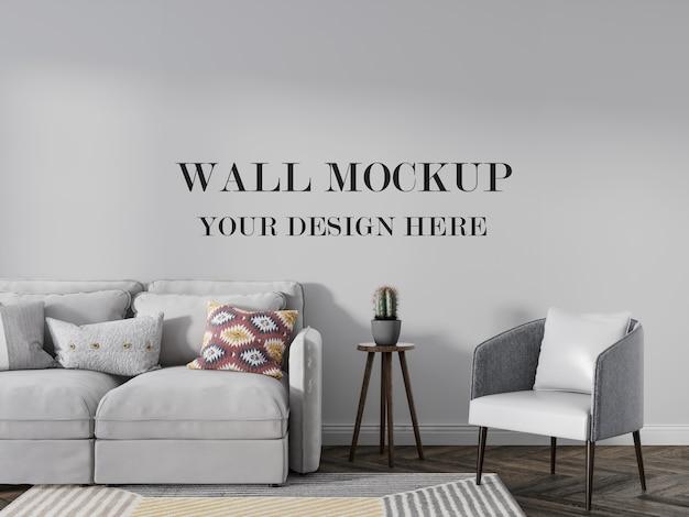 Mur vide de pièce pour vos idées de conception