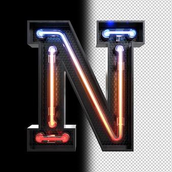 Néon lettre n