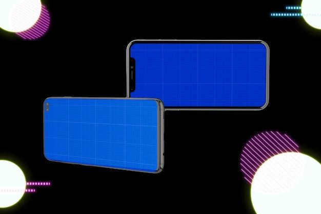 Neon two mockups