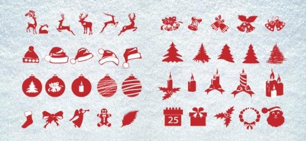 Noël silhouettes méga pack