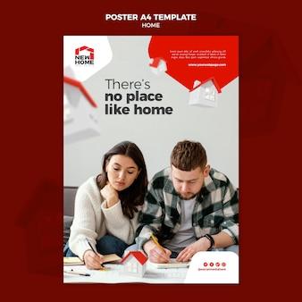 Nouveau modèle d'affiche pour la maison