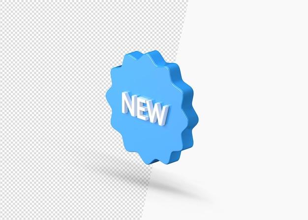 Nouveau produit 3d réaliste disponible 3d isolé