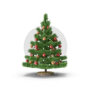 Nouvelle forme d'arbre de noël 3d