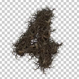 Numéro de branche d'arbre de rendu 3d
