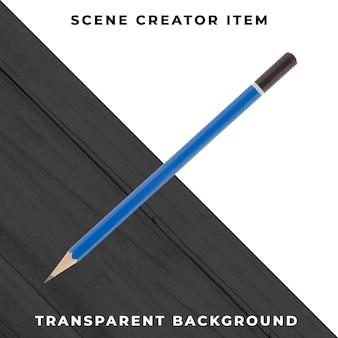 Objet crayon psd transparent