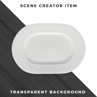 Objet plaque psd transparent