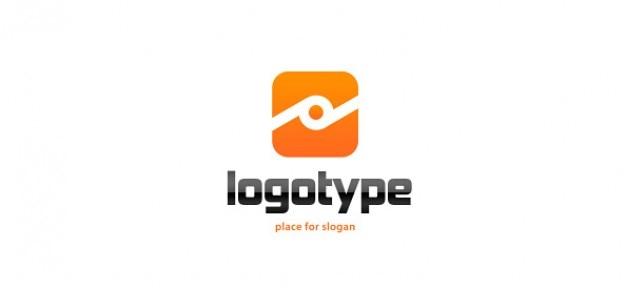 Orange, modèle de conception de logo