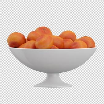 Oranges isométriques