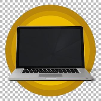 Ordinateur Portable Isolé Sur Fond Transparent. PSD Premium