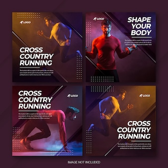 Pack de publication instagram sportif