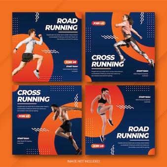 Pack de publication instagram sportif