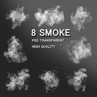Pack De Styles De Fumée PSD Premium