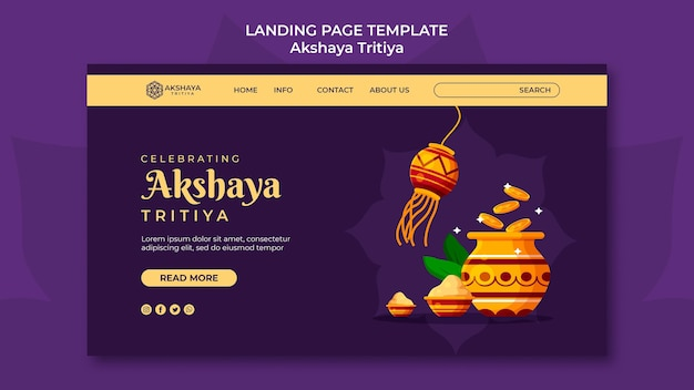 Page de destination d'akshaya tritiya