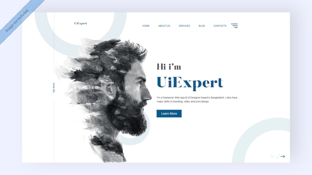 Page de destination des experts de l'interface utilisateur