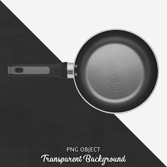 Pan noir sur fond transparent