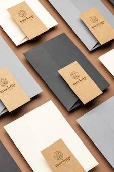 Papeterie à grand angle de papier