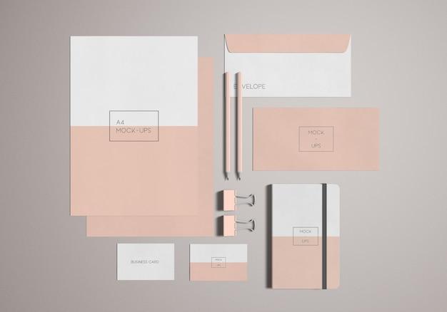 Papeterie / maquette de marque
