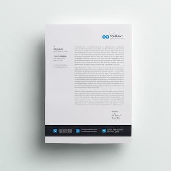 Papier à en-tête professionnel
