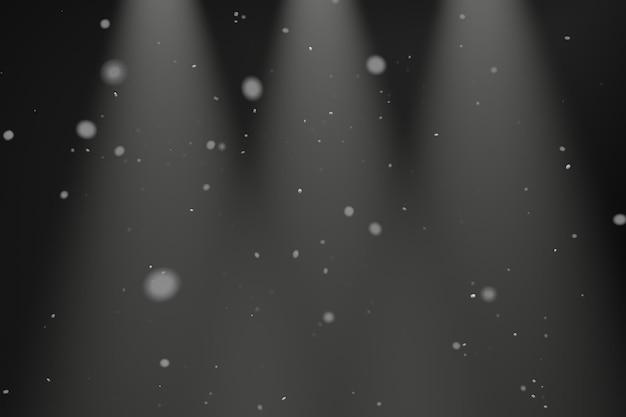 Particule de conception de fond de poussière