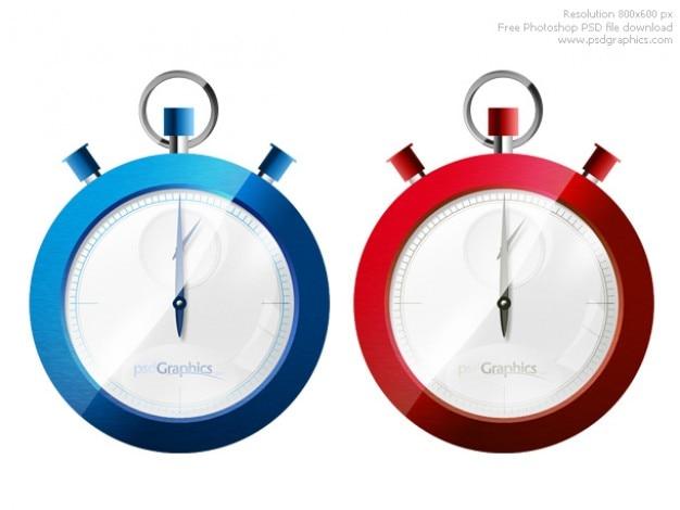 Photoshop chronomètre icône