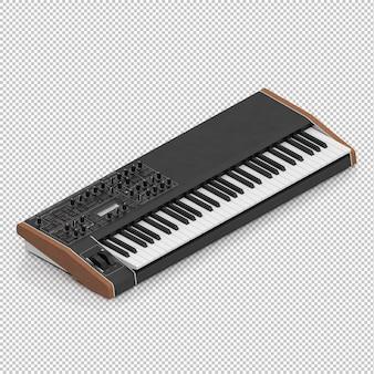 Piano électronique isométrique