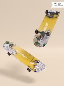 Planche à roulettes maquette