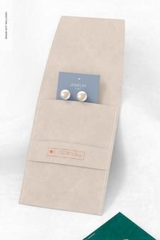 Pochette d'accessoires avec maquette de bande