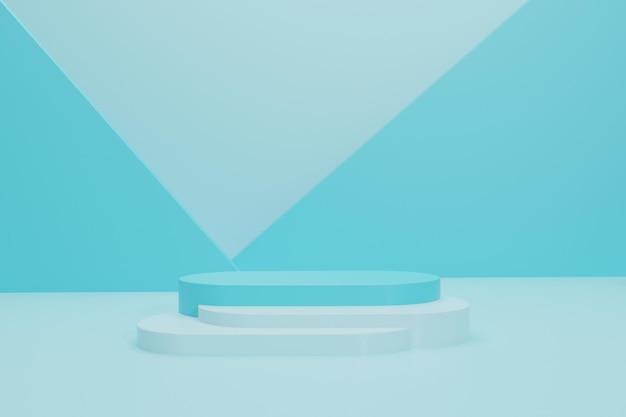 Podium 3d pour l'affichage des produits
