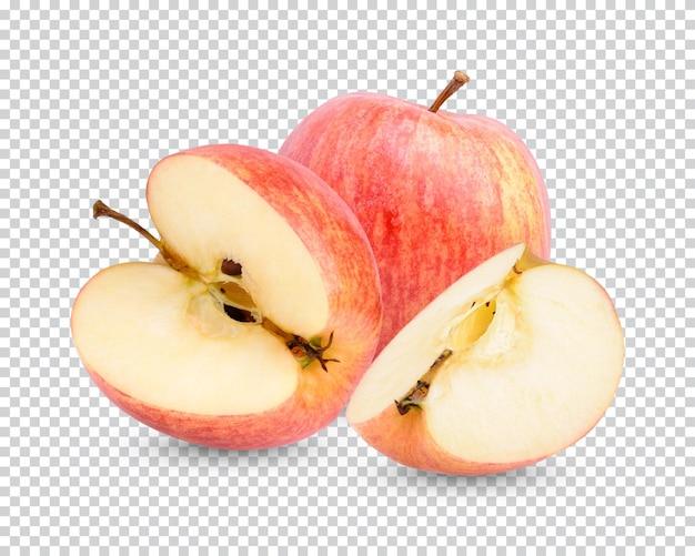 Pomme fraîche isolée
