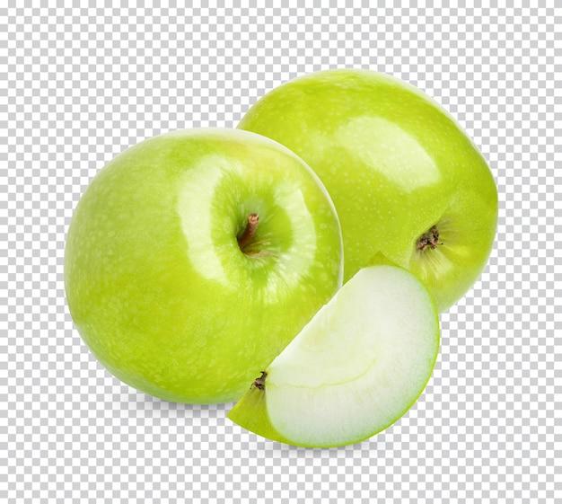Pomme verte fraîche isolée
