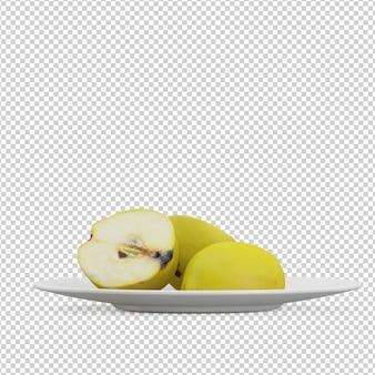 Pommes isométriques