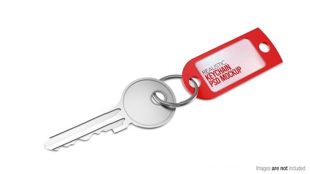 Porte-clés en silicone avec clé
