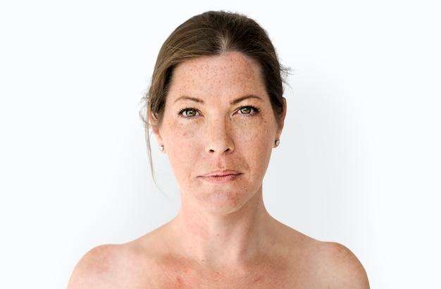 Portrait de studio seins nus poitrine seins nus