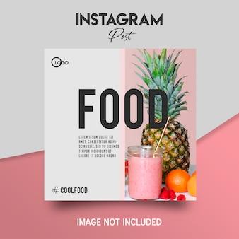 Poste social sur instagram