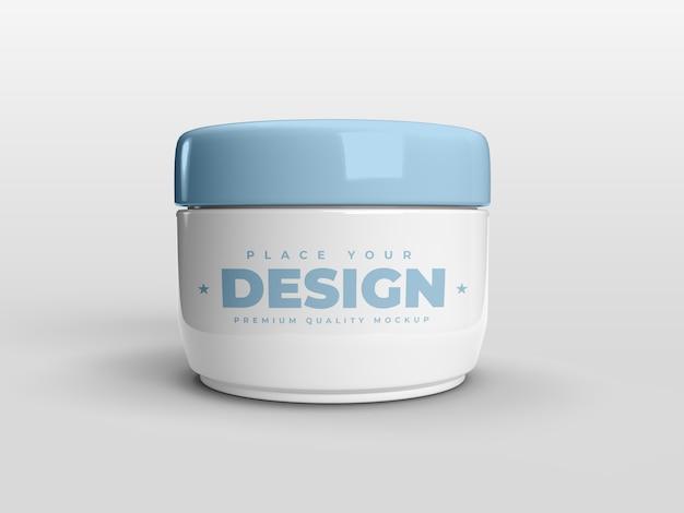 Pot twist pour maquette de produit cosmétique