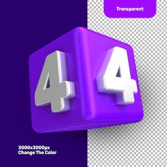 Première collection d'icônes 3d numéro 4
